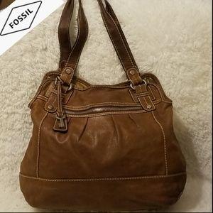 🗝️ Fossil Vintage Distressed Leather Purse